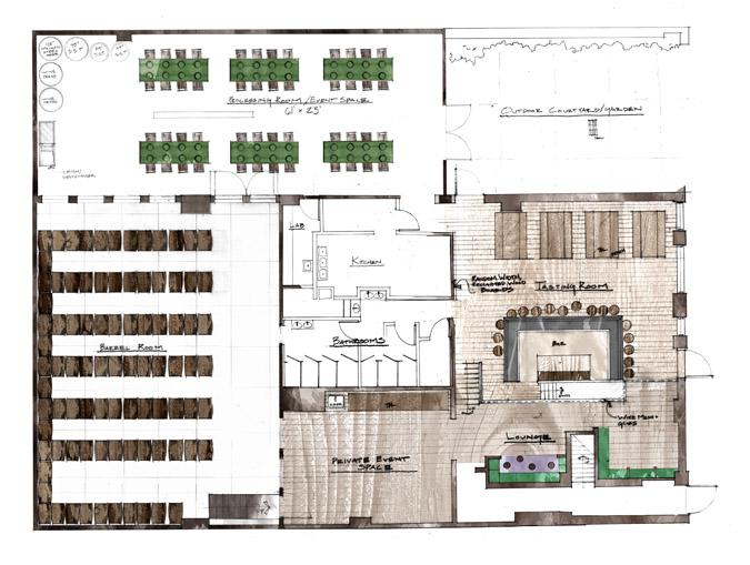 Studio js2 - Small event space brooklyn plan ...